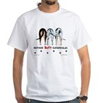 Nothin' Butt Catahoulas White T-Shirt