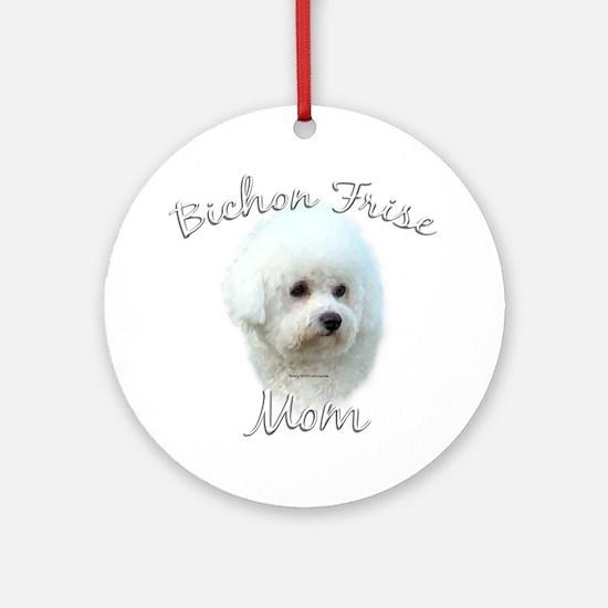 Bichon Mom2 Ornament (Round)