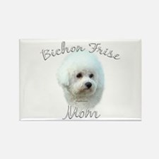 Bichon Mom2 Rectangle Magnet
