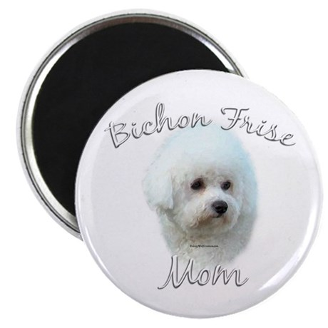 Bichon Mom2 Magnet
