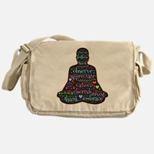 Cute Eastern philosophy Messenger Bag