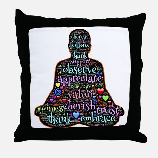 Unique Eastern philosophy Throw Pillow