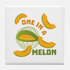 One In A Melon Tile Coaster