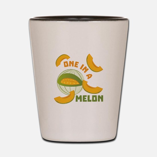 One In A Melon Shot Glass