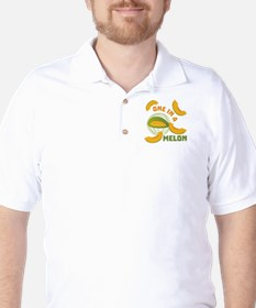 One In A Melon Golf Shirt