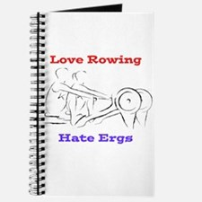 Love Rowing - Hate Ergs Journal