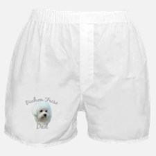 Bichon Dad2 Boxer Shorts