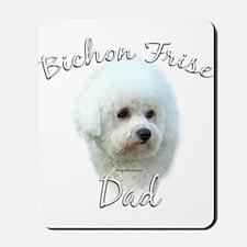 Bichon Dad2 Mousepad