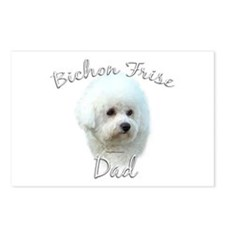 Bichon Dad2 Postcards (Package of 8)