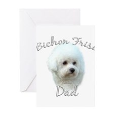 Bichon Dad2 Greeting Card