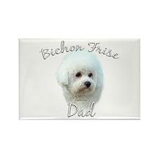 Bichon Dad2 Rectangle Magnet