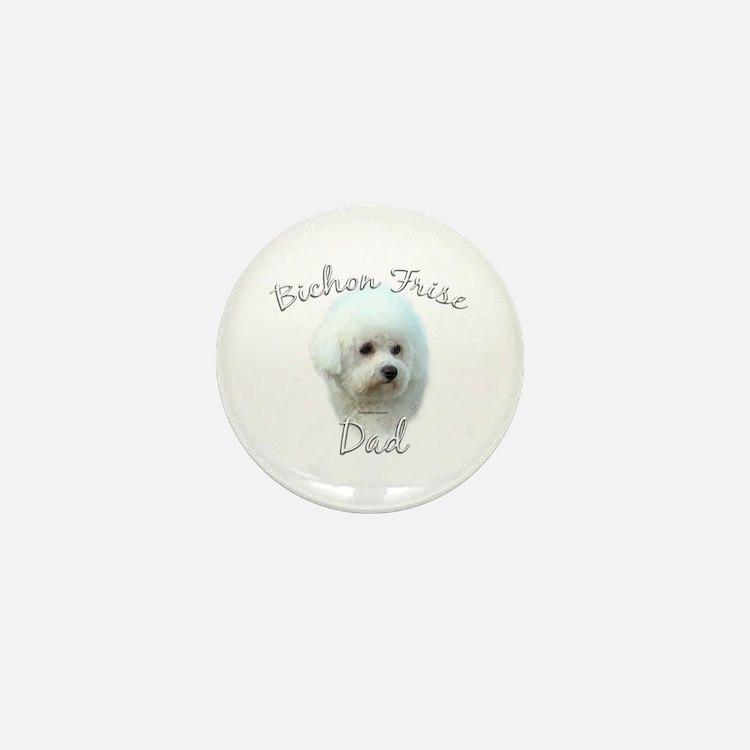 Bichon Dad2 Mini Button