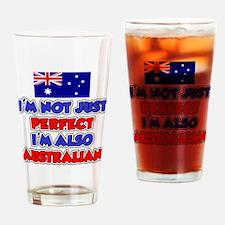 Not Just Perfect Australian Drinking Glass