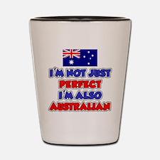 Not Just Perfect Australian Shot Glass
