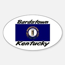 Bardstown Kentucky Oval Decal