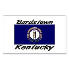 Bardstown Kentucky Rectangle Decal