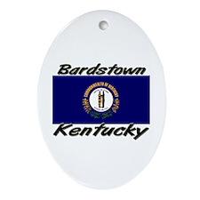 Bardstown Kentucky Oval Ornament