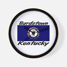 Bardstown Kentucky Wall Clock