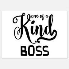 One of a Kind Boss Invitations