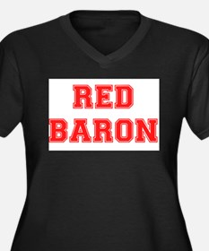 RED BARON! Plus Size T-Shirt