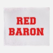 RED BARON! Throw Blanket