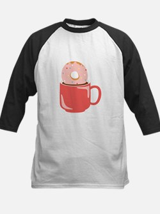 Doughnut & Coffee Baseball Jersey