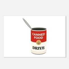 Canned Food Drive Postcards (Package of 8)