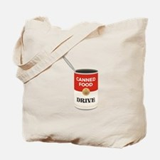 Canned Food Drive Tote Bag