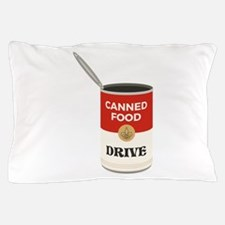 Canned Food Drive Pillow Case