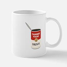 Canned Food Drive Mugs
