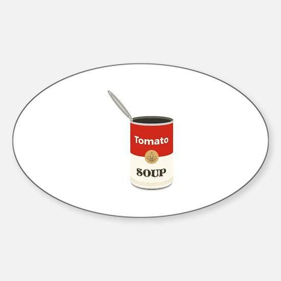 Tomato Soup Decal