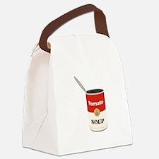 Tomato Soup Canvas Lunch Bag