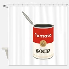 Tomato Soup Shower Curtain