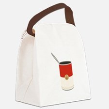 Campbells Soup Can Canvas Lunch Bag
