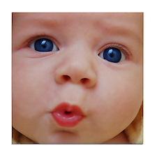Baby Face Tile Coaster