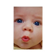 Baby Face Rectangle Magnet