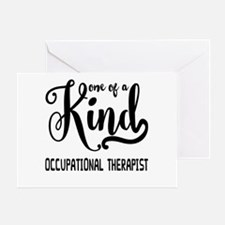 One of a Kind Occupational Therapist Greeting Card