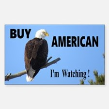 Buy American Decal