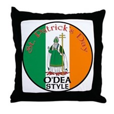 O'Dea, St. Patrick's Day Throw Pillow