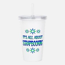 All About Scrapbooking Acrylic Double-wall Tumbler
