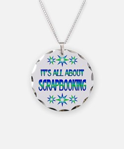 All About Scrapbooking Necklace