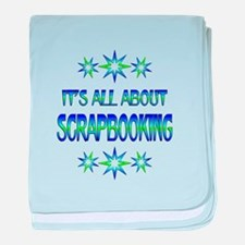 All About Scrapbooking baby blanket