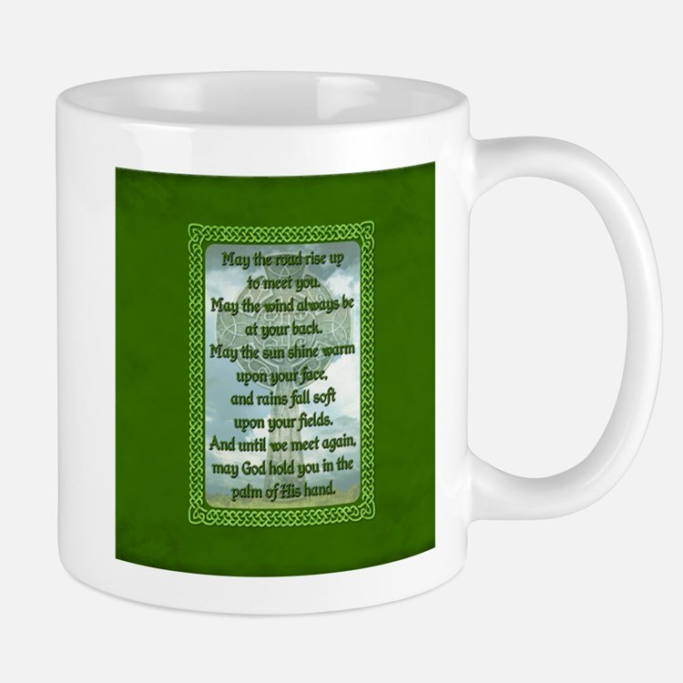 Green Irish Blessing Mugs