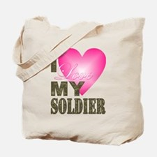 Cute Military valentines day Tote Bag