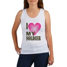 Cute Military valentine%27s day Women's Tank Top