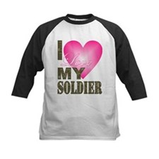 I love my soldier Baseball Jersey