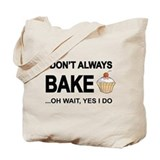 Baking Regular Canvas Tote Bag