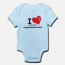 Unique I survived open heart surgery Infant Bodysuit