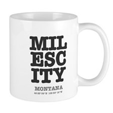 MILES CITY - MONTANA, LAT-LONG Mugs