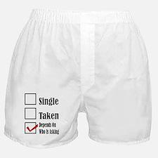 Single ready to mingle Boxer Shorts